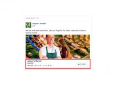 【Facebook広告のフォーマット:5】Page Like Ad(ページ「いいね!」広告)